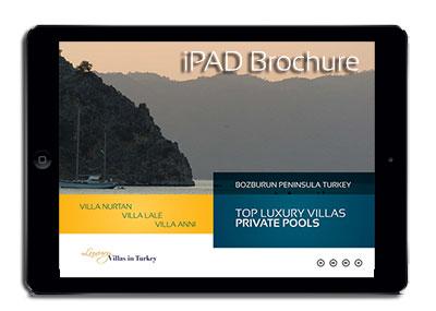 Download iPAD luxury Villas Turkey Brochure
